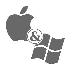 Windows and Mac OS
